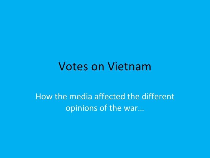 Vietnam Proj By Rachel & Nicole