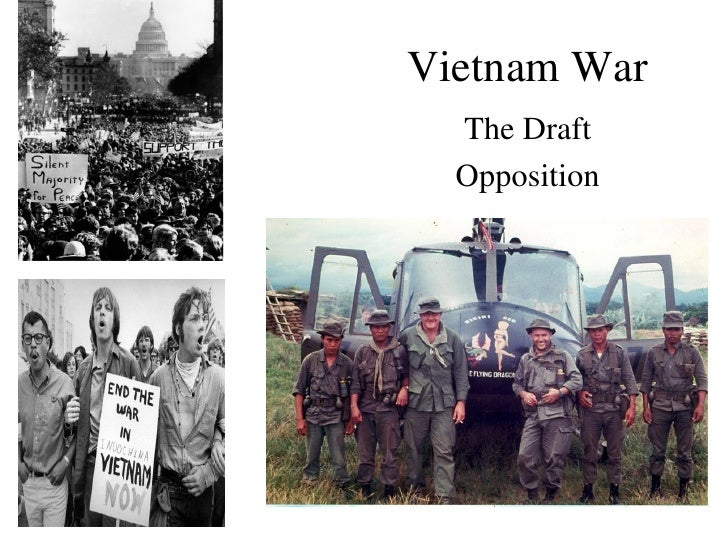 Vietnam War  The Draft  Opposition