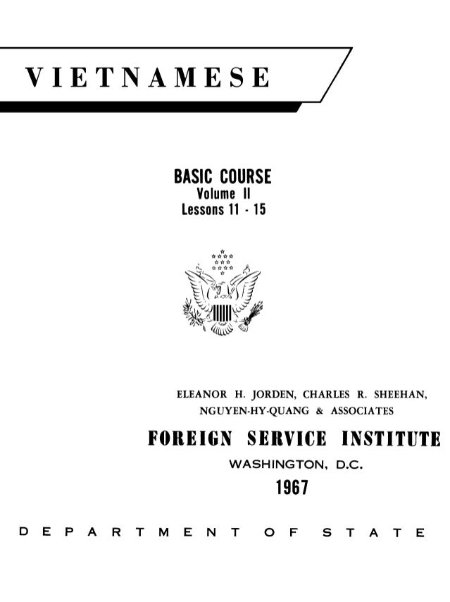 Learn Vietnamese - FSI Basic Course (Part 2)