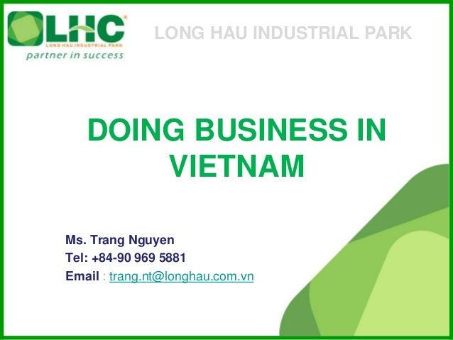 Vietnam for foreign investor