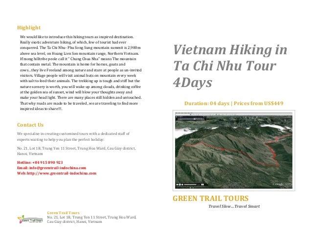Vietnam hiking in ta chi nhu tour 4 days