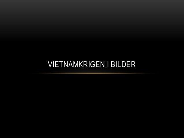 Vietnamkrigen i bilder
