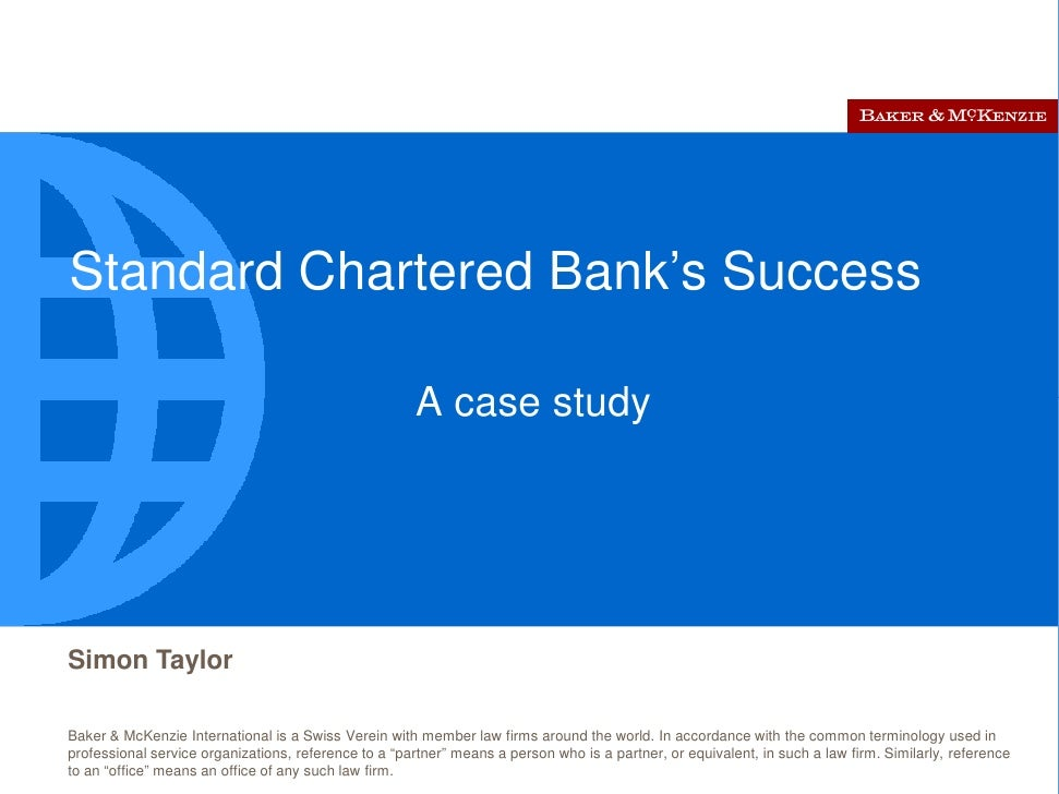 the success factors of standard chartered Critical success factors for tomorrow's business leaders: perspectives on business leadership from leading chartered accountants in the us download the full.