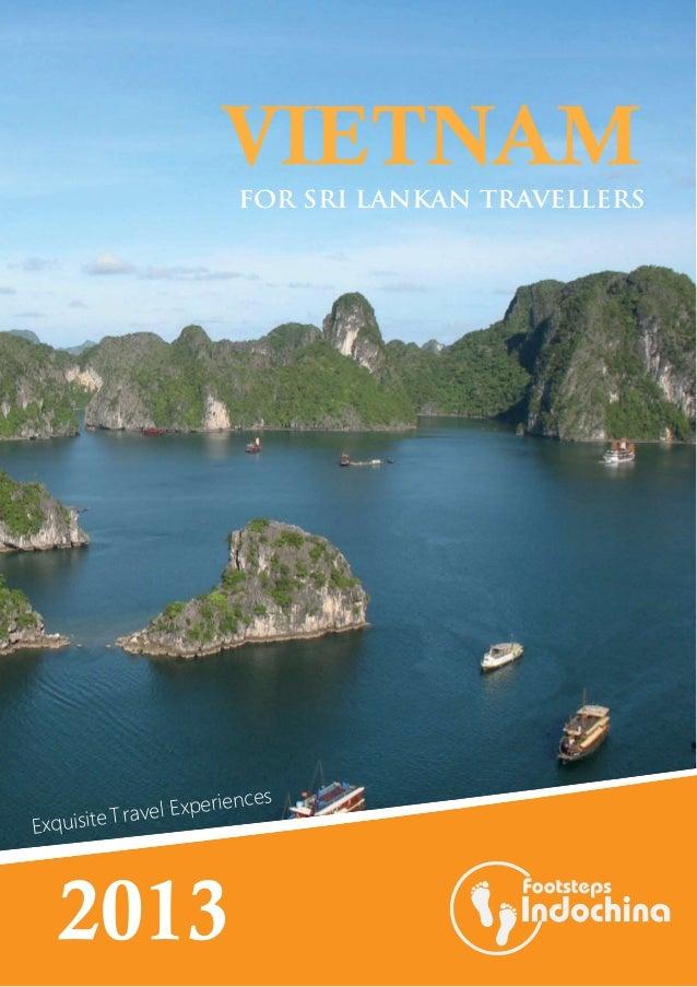 Vietnam package tours - Sri Lankan market