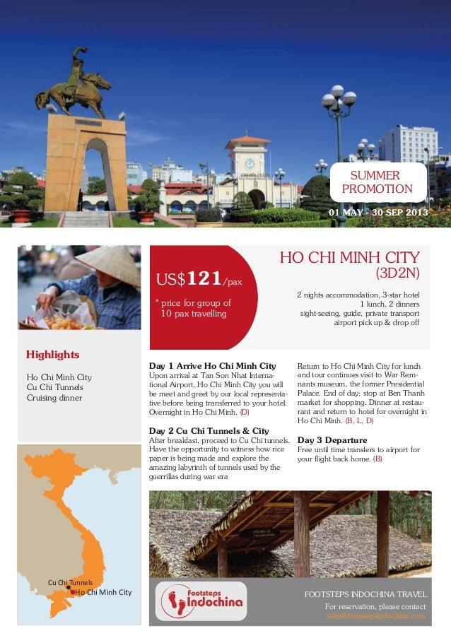 Vietnam promotion tours