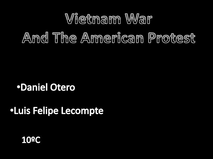Vietnam war and american prootest