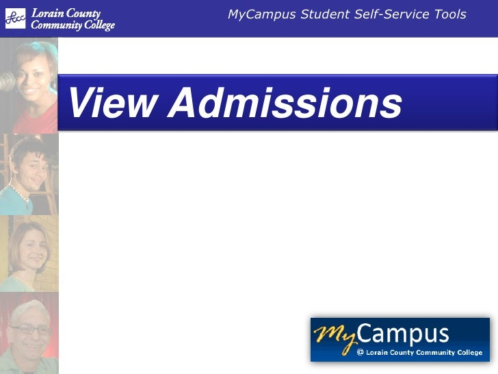 View admissions