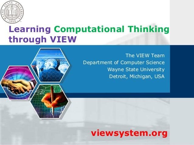 View computational thinking_v2