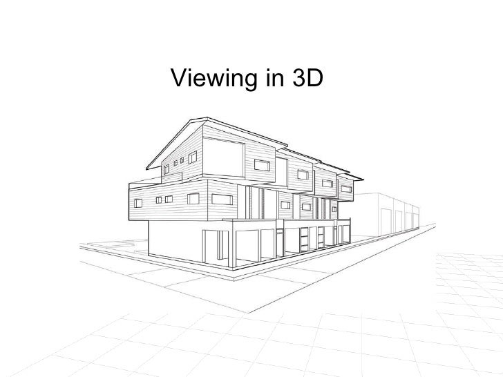 Viewing in 3D