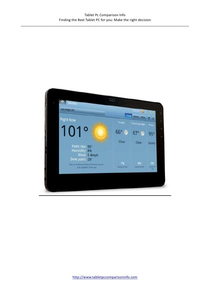 ViewSonic gTablet review
