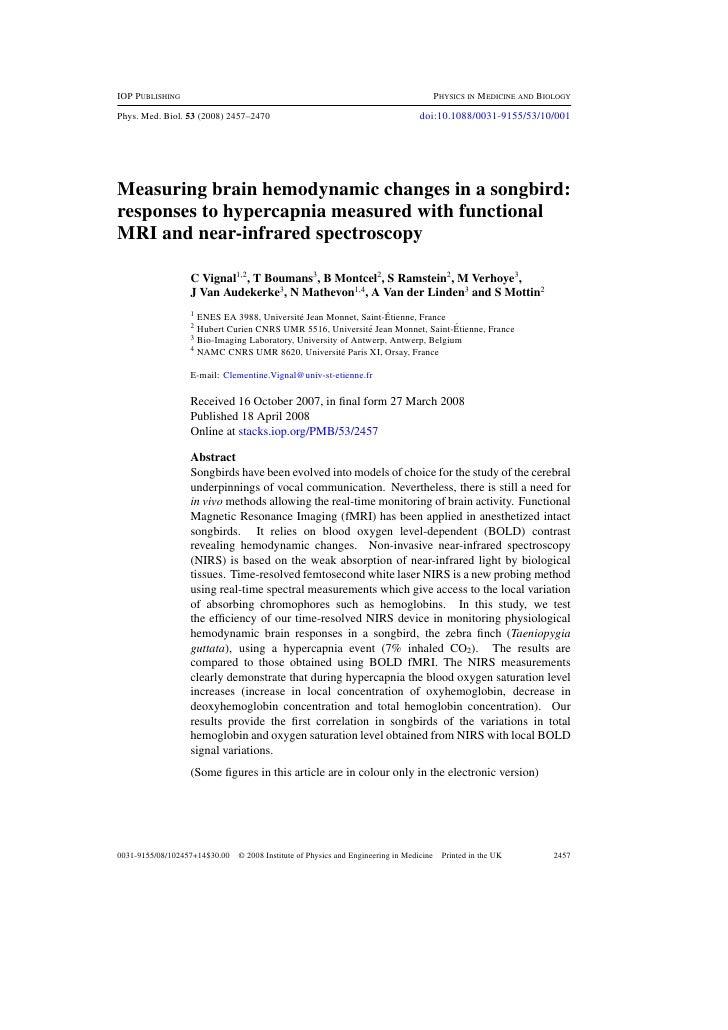 Vignal-mottin-2008, phys medbiol-highlights 2008