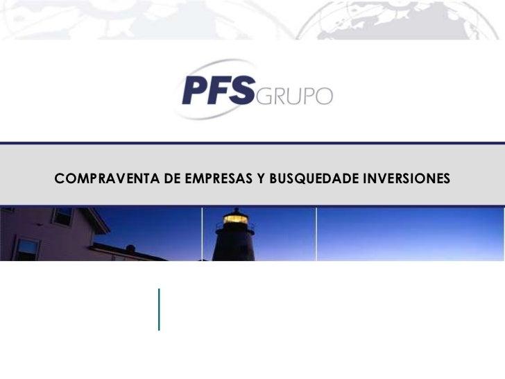 COMPRAVENTA DE EMPRESAS Y BUSQUEDADE INVERSIONES