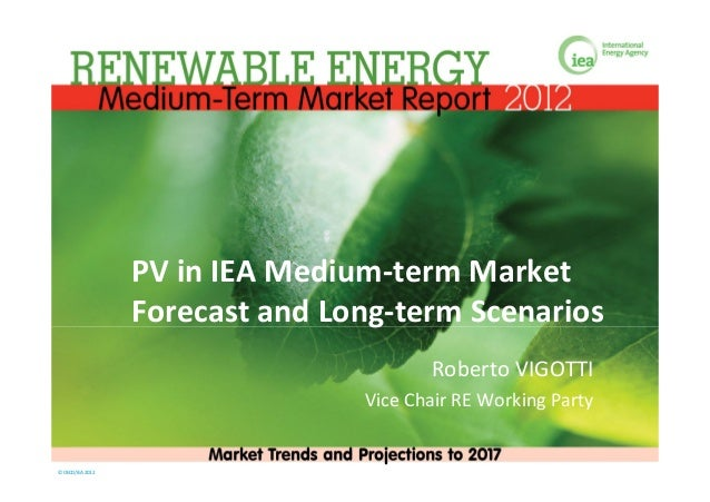 PV in IEA Medium-term Market - Roberto Vigotti, IEA