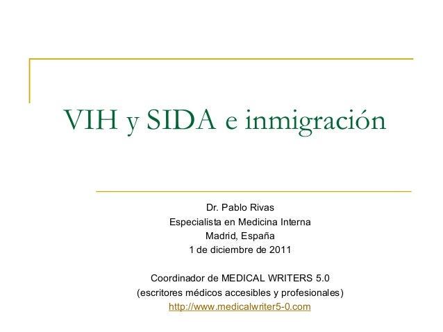 VIH y SIDA e inmigración
