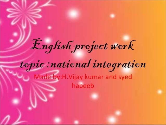 vijay national integration