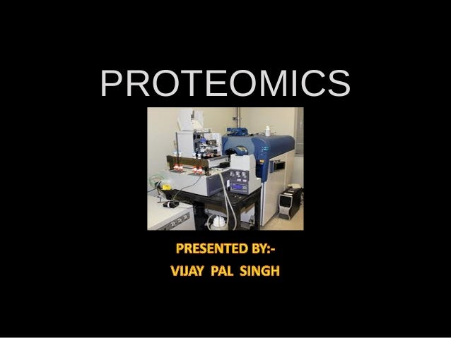 Vijay protiomics current