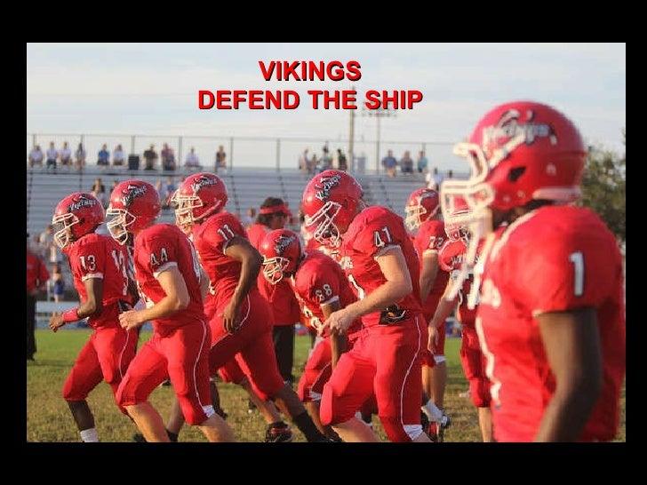 VIKINGS DEFEND THE SHIP