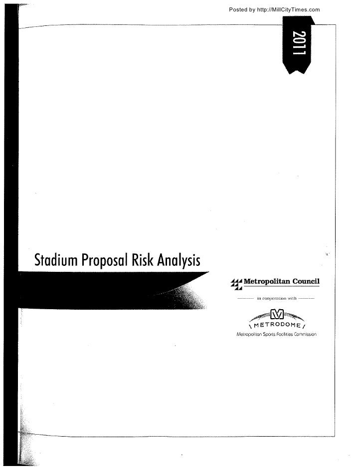 Vikings Stadium Proposal Risk Analysis Report