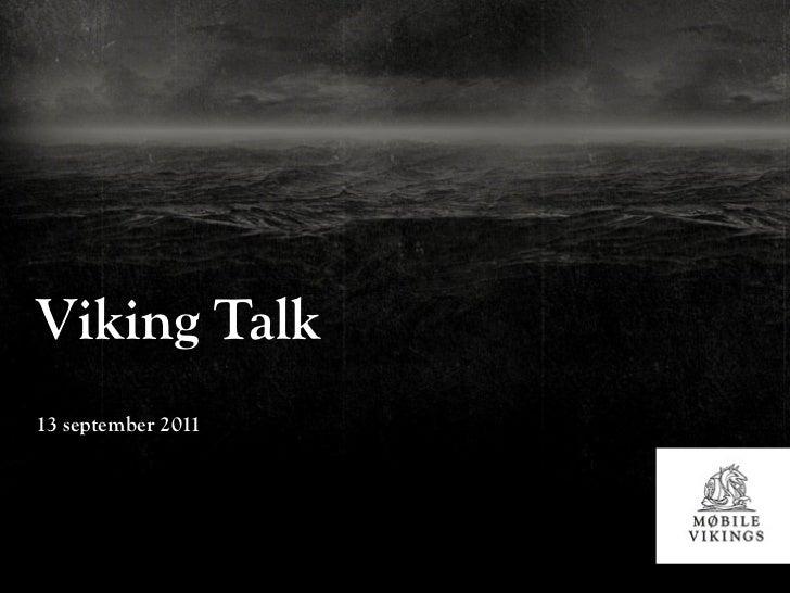 Viking Talk13 september 2011