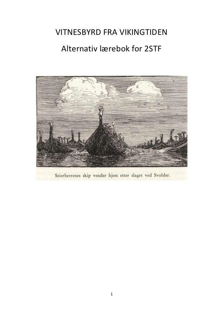 Vikingtid alternativ lærebok 2 stf