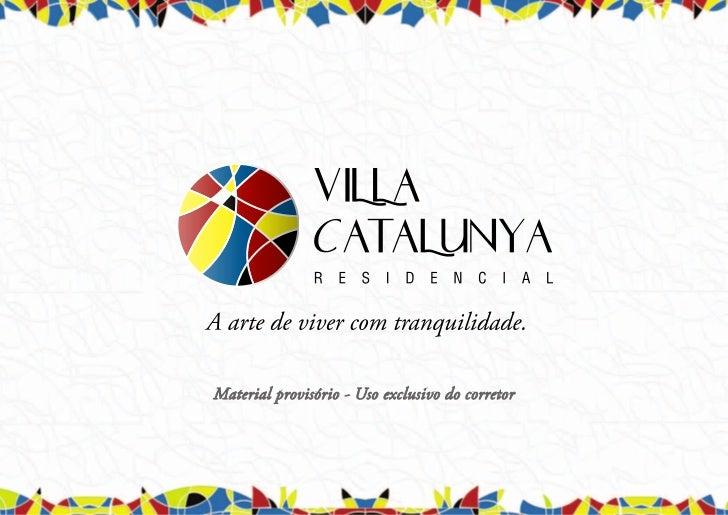 Villa Catalunya - Book Provisório