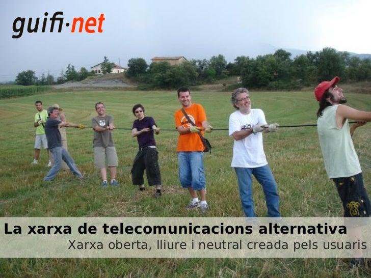 Xerrada guifi.net a Viladecavalls Juliol 2011