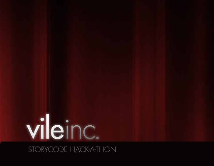 LoveStinks ...or so J. Geils would have us believe.                                 VILE INC. STORY HACK-A-THON   04.29.12...