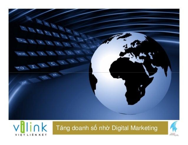 Tăng doanh s nh Digital Marketing