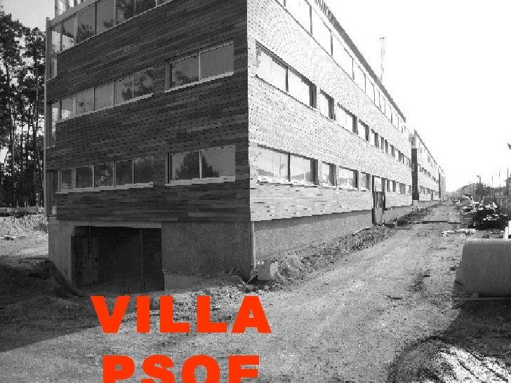 VILLA PSOE