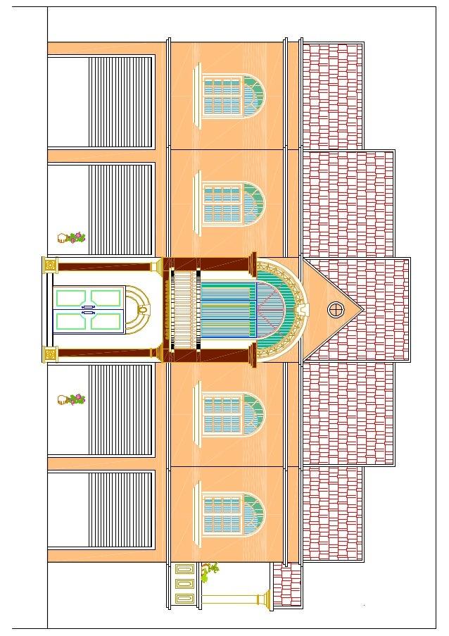 Villa beni douala.dxf model (1)