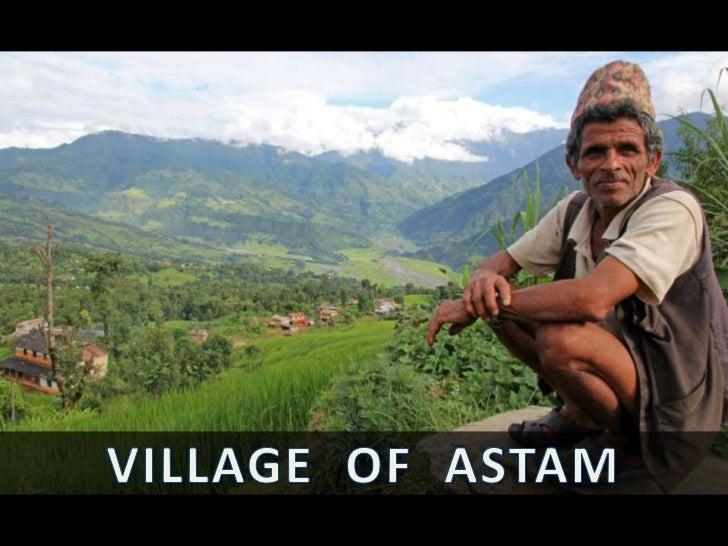 The Village of Astam, Nepal