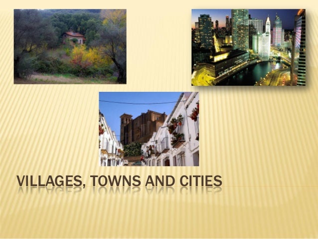Villages, towns and cities 1 epo