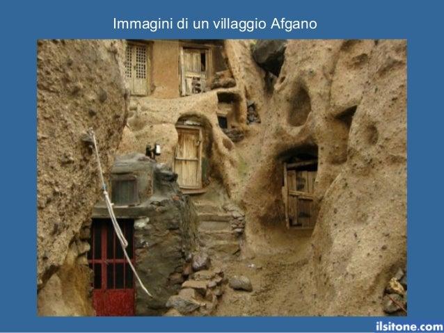 Immagini di un villaggio Afgano