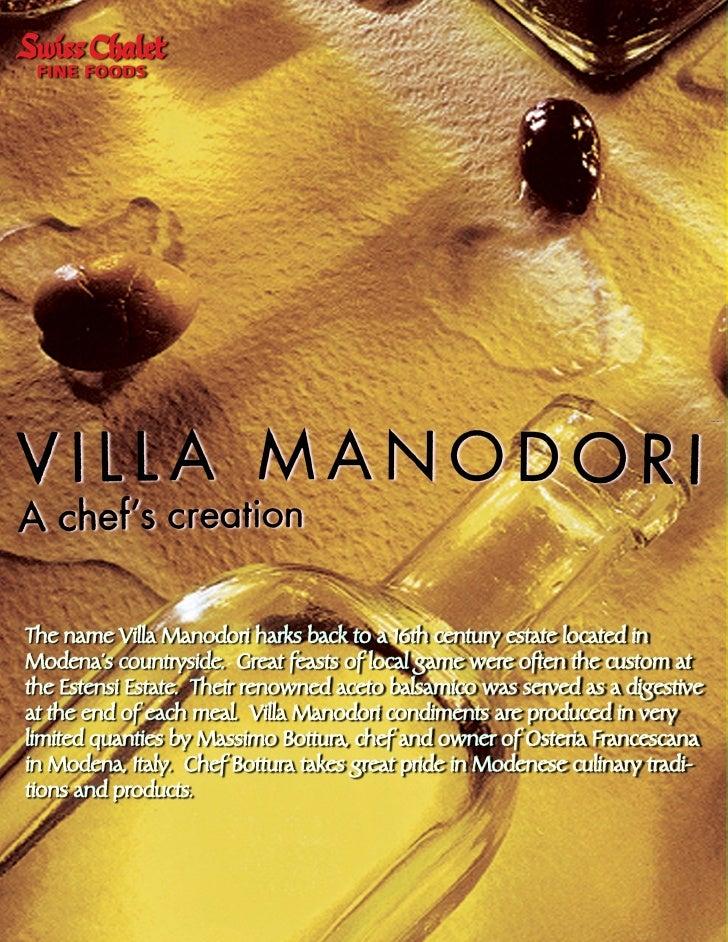 Villa Manodori Flyer