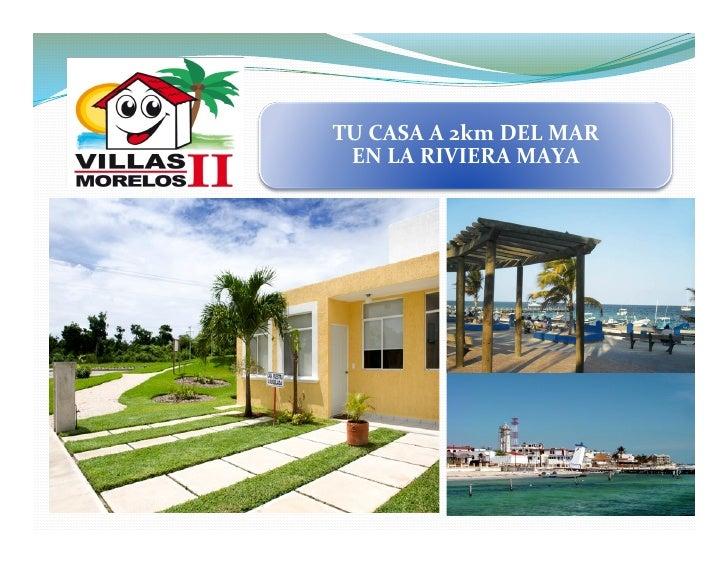 Villas morelos ii for Villas xavier morelos