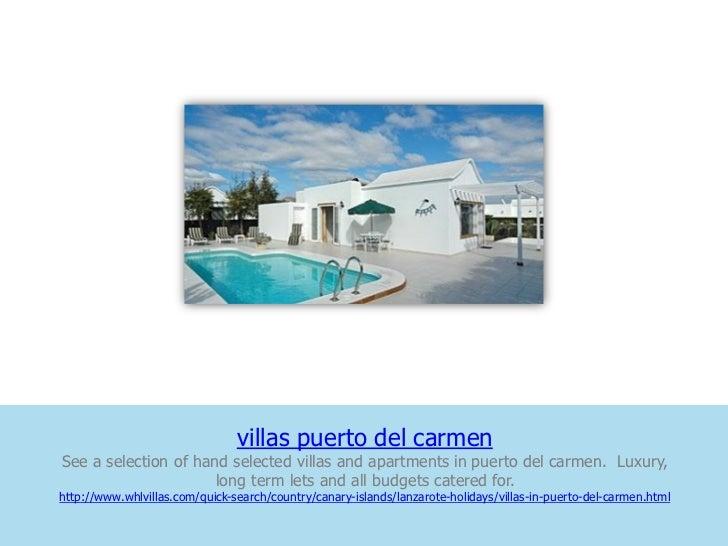 villas puerto del carmenSee a selection of hand selected villas and apartments in puerto del carmen. Luxury,              ...