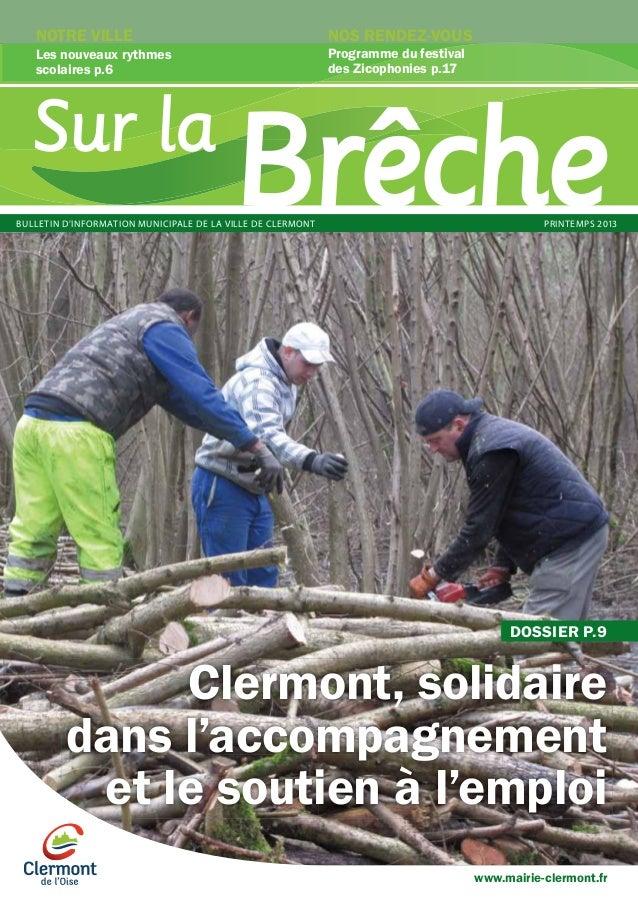 Ville de Clermont - Sur La Brêche - Printemps 2013