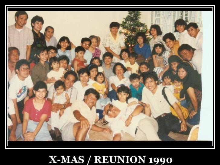 X-MAS / REUNION 1990