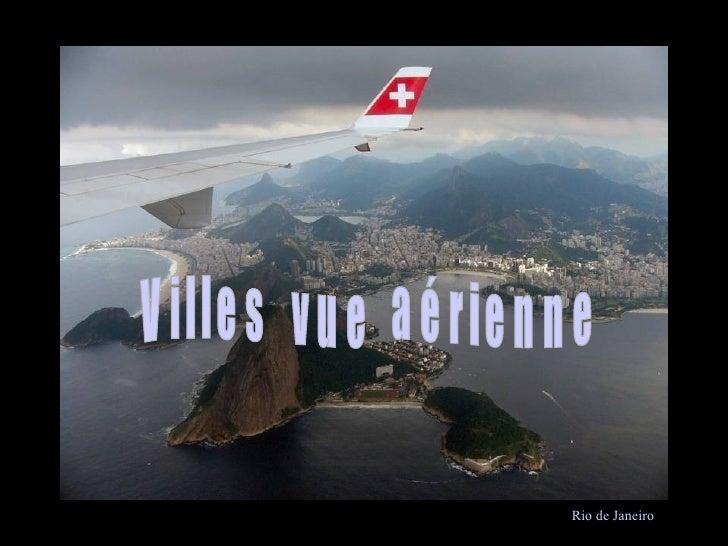 Rio d Rio de Janeiro Villes  vue  aérienne
