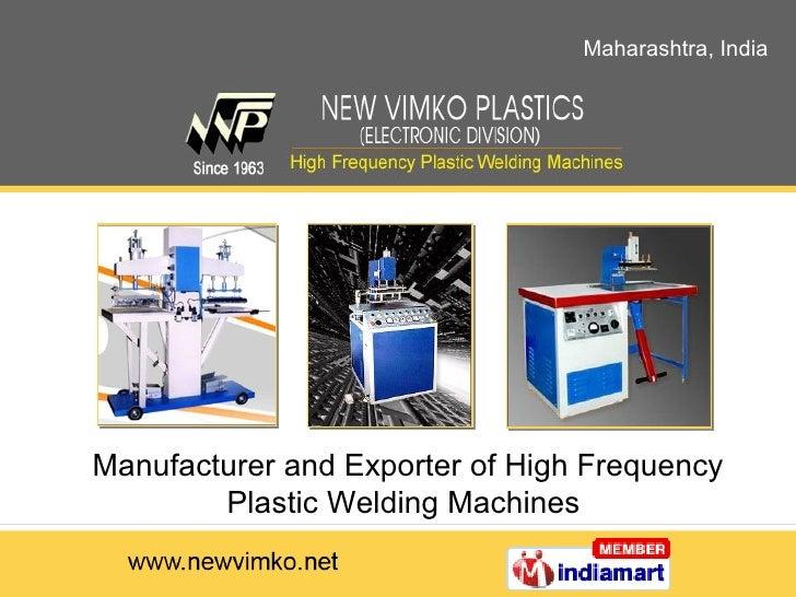 High Frequency Welding Machines Maharashtra India