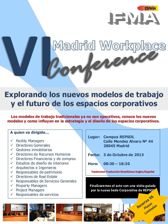 VI Madrid WorkPlace Conference