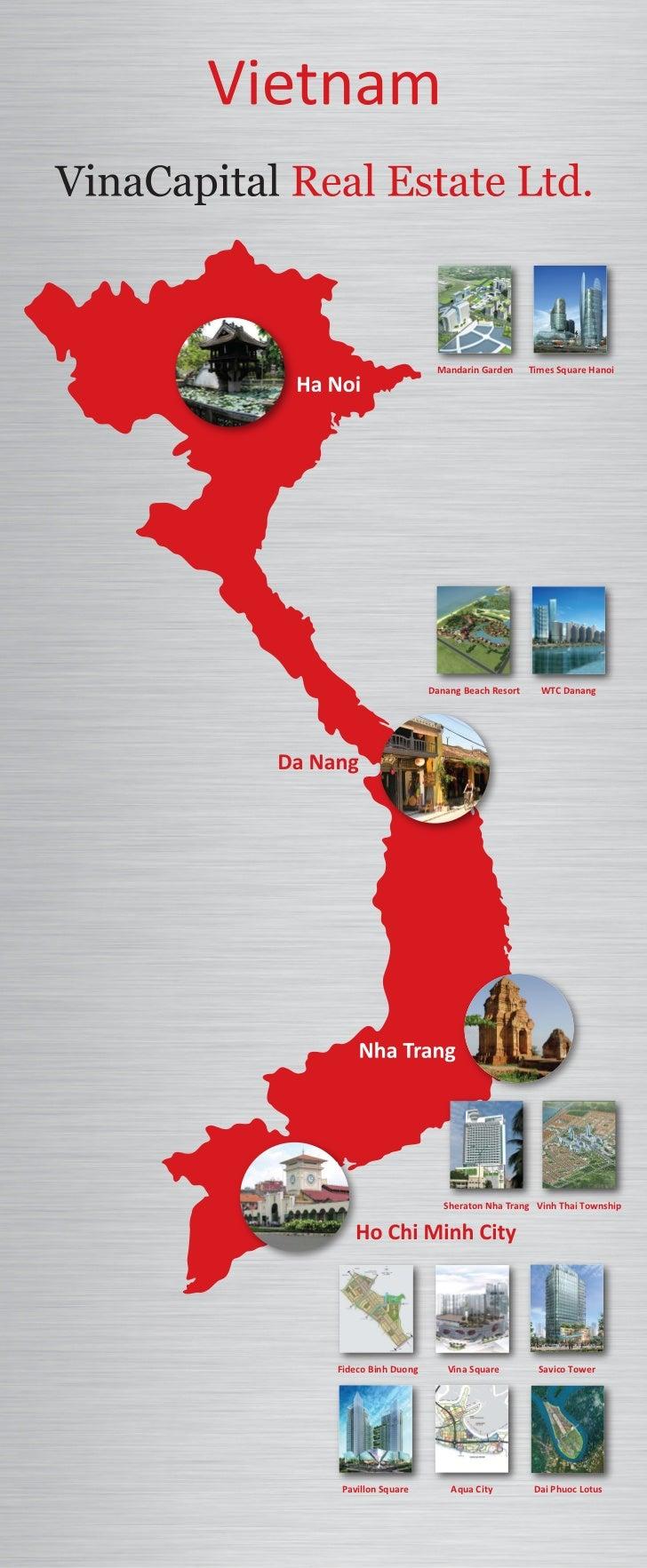 Mandarin Garden      Times Square Hanoi                    Danang Beach Resort     WTC Danang                       Sherat...