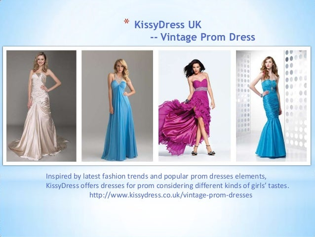 * KissyDress UK-- Vintage Prom DressInspired by latest fashion trends and popular prom dresses elements,KissyDress offers ...