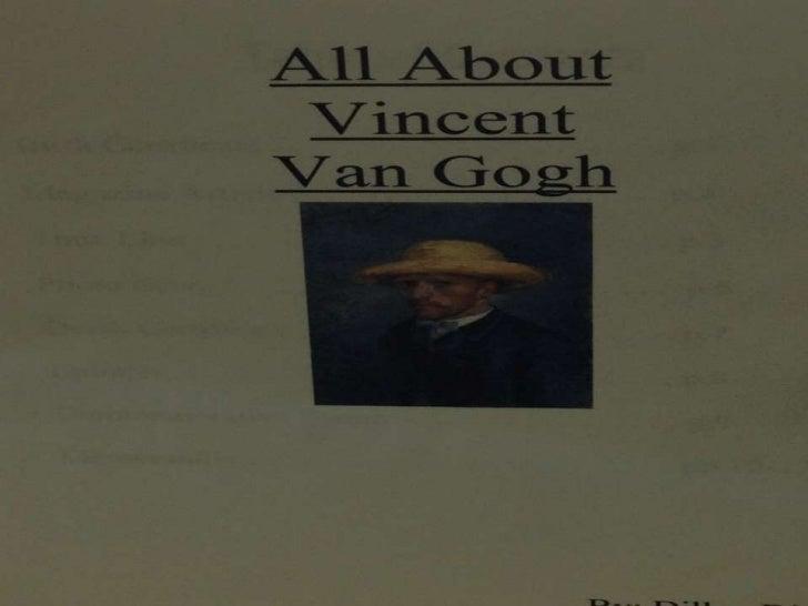 Vincent v. gogh scrpbk