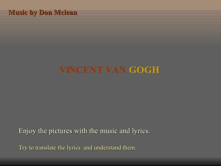 Vincen Van Gogh