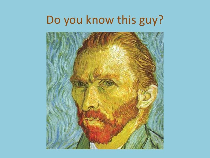 Do you know this guy?
