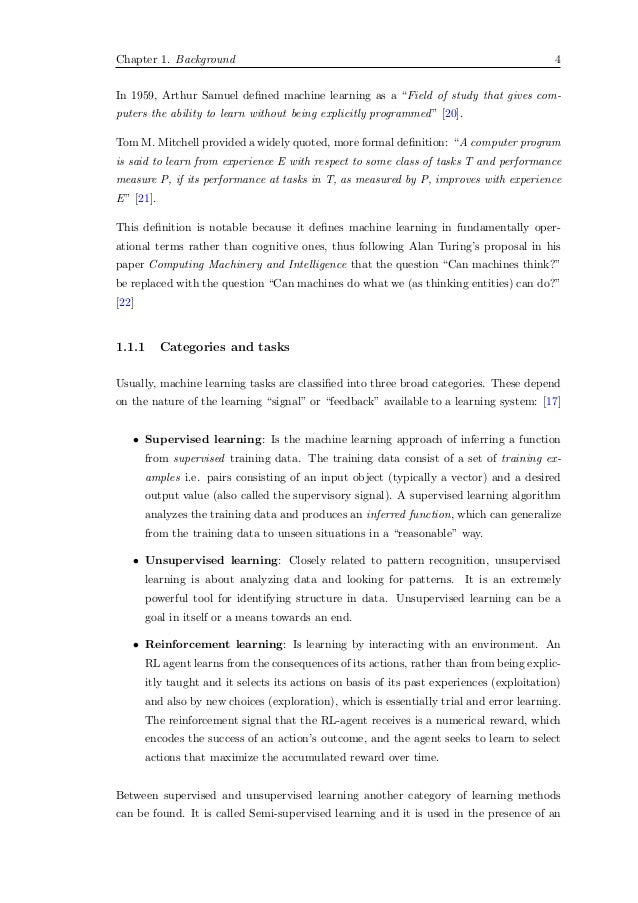 Master thesis machine learning | Online Custom MBA Marketing, Finance ...