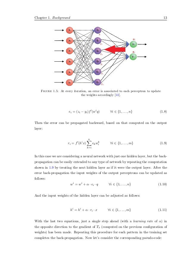 Master thesis neural network