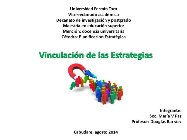 Universidad Fermín Toro Vicerrectorado académico Decanato de investigación y postgrado Maestría en educación superior Menc...