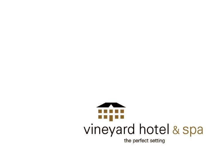 vineyard hotel & spa _____________________________________________________________________________ Originally built by...